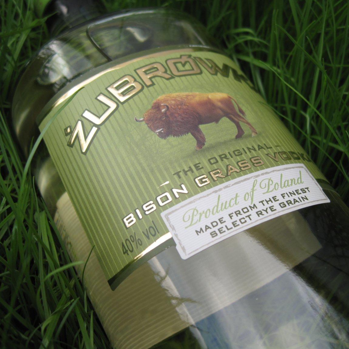 Wodka Mit Büffelgras